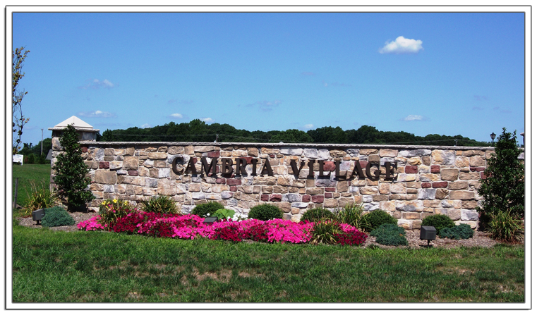 Just Released Cambria Village Delivery October 2014