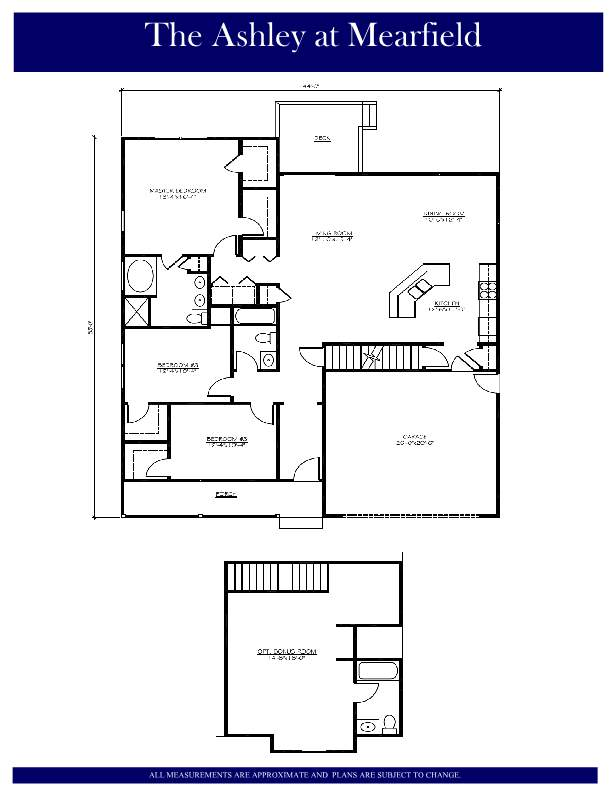 Floor plan the ashley mearfield lenape builders for Share builders plan
