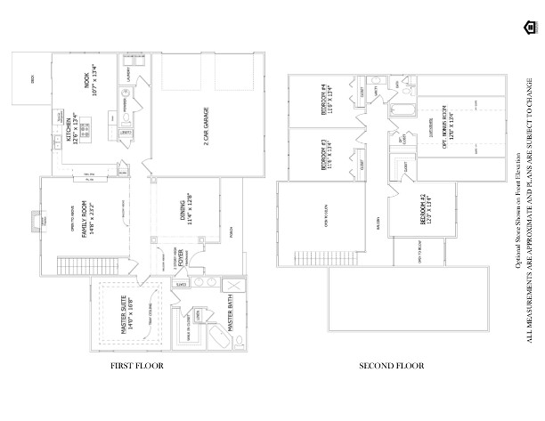 Floor plan the cambridge bower 39 s landing lenape builders for Share builders plan